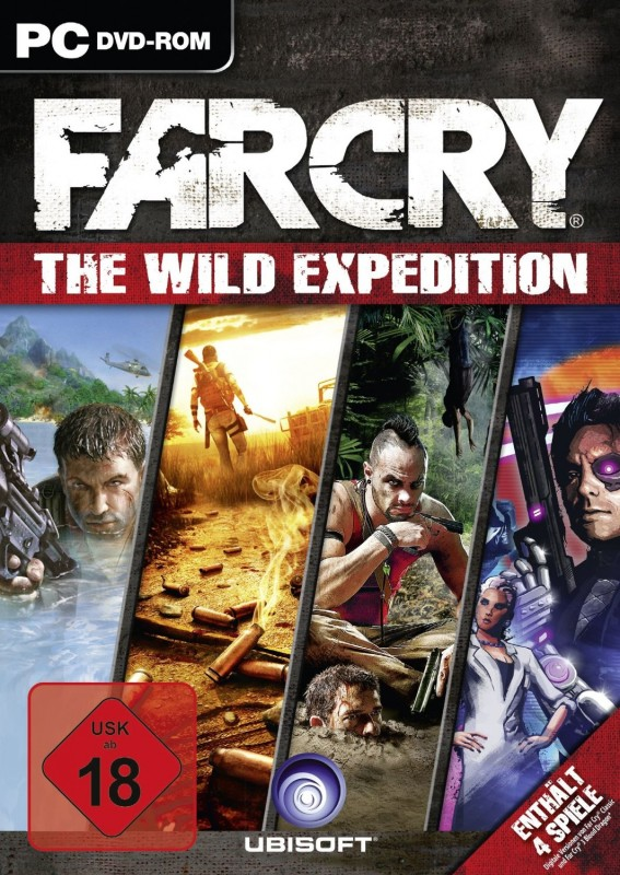 Far Cry: The Wild Expeditions 1-3 + alle Add-Ons