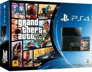 Konsole 500GB #schwarz + Grand Theft Auto V
