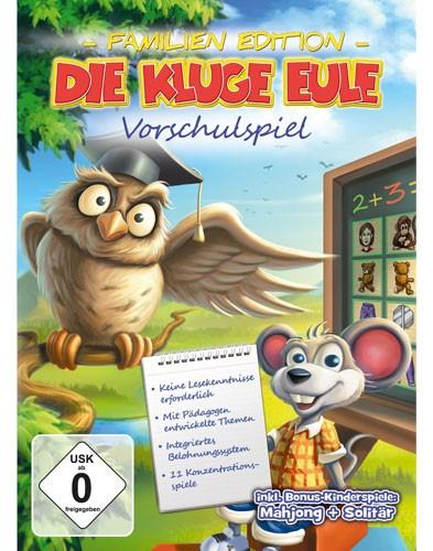 Die kluge Eule: Vorschulspiel - Familien Edition