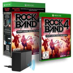 Rock Band 4 + Adapter