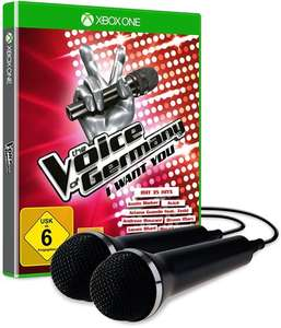 The Voice of Germany: I Want You + 2 Mikrofone