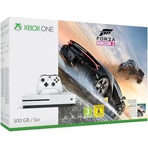 Konsole Slim 500GB + Forza Horizon 3