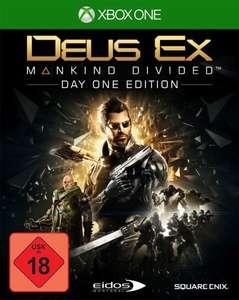 Deus Ex: Mankind Divided #Day One Edition
