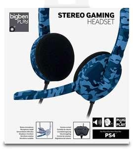 Headset Camouflage #blau