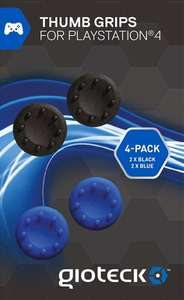 Analog Thumb Grips: 4 Kappen für Analog Sticks