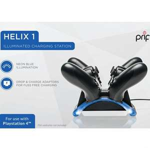 Ladestation Helix 1 für 2 Controller #blau [PRIF]