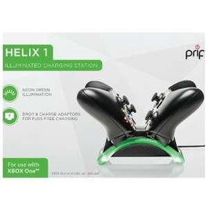 Ladestation Helix 1 für 2 Controller #grün [PRIF]