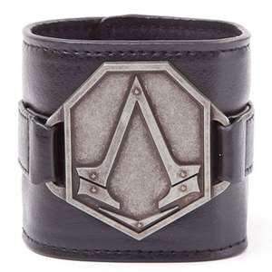 Assassin's Creed Syndicate: Armband Metall Logo Pat