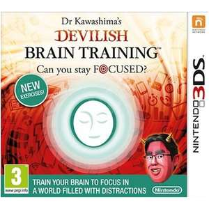 Dr. Kawashimas: Devilish Brain Training - Can you stay Focused?
