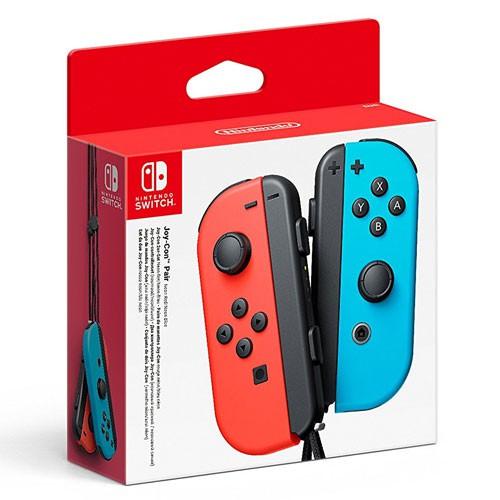 Nintendo Switch - 2 Original Joy-Con Controller #Neon-Rot/Neon-Blau