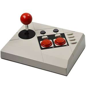 Mini Classic Arcade Stick + Cheat Codes Buch [Steelplay]