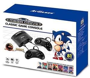 Classic Console + 2 Controller + 81 Spiele vorinstalliert