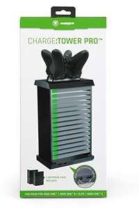 Charge: Tower Pro - Aufbewahrung von Spielen + Ladestation [snakebyte]
