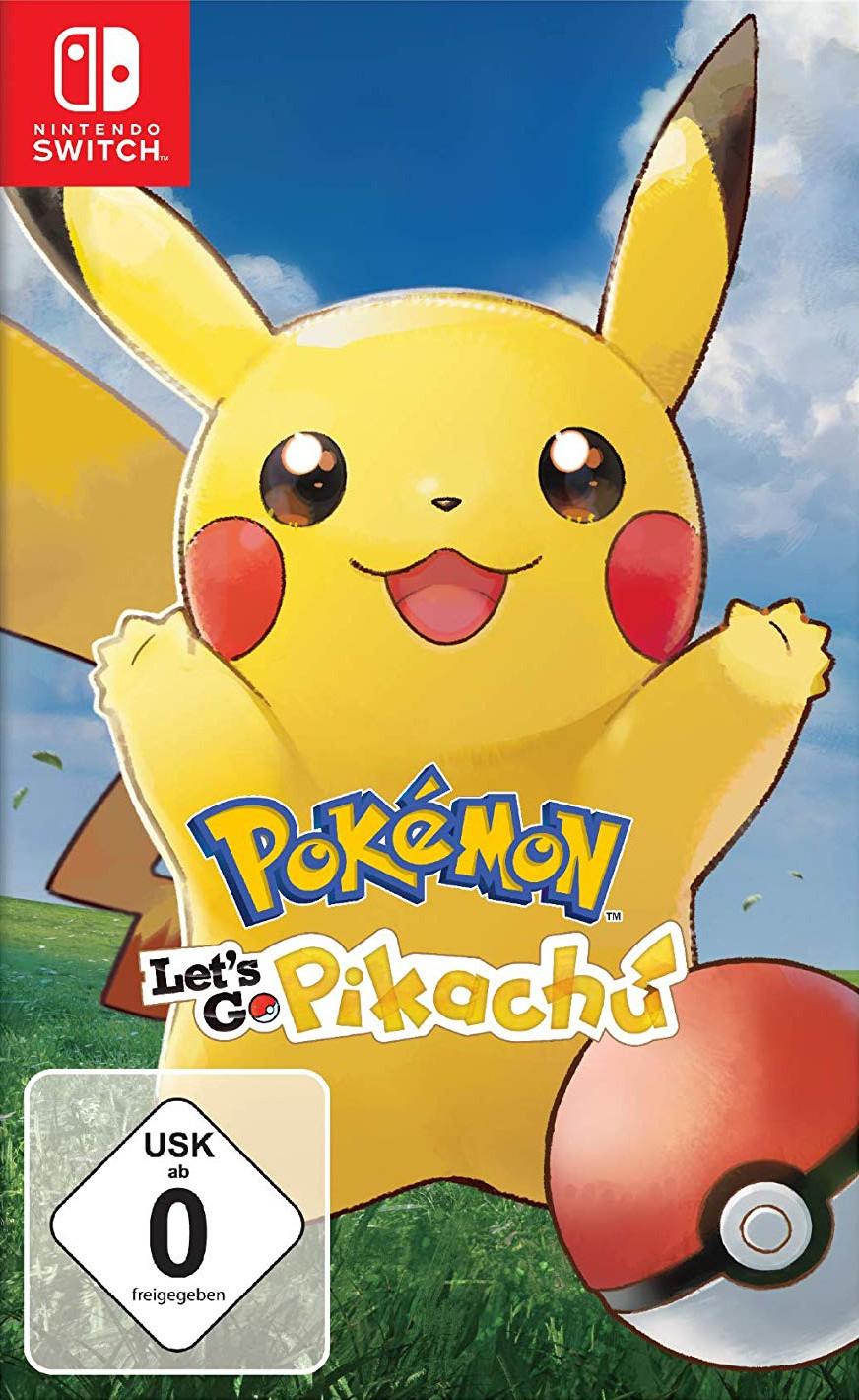Nintendo Switch - Pokémon: Let\'s Go - Pikachu!