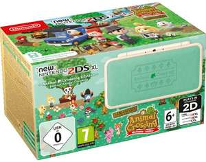 Konsole New 2DS XL #Animal Crossing Edition + Netzteil