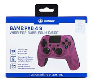 Wireless Controller - Game:Pad 4S #bubblegum-camouflage [snakebyte]