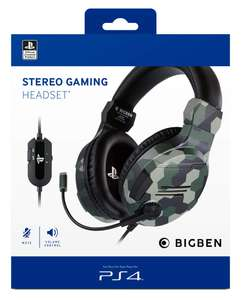 Headset Stereo V3 #camo green