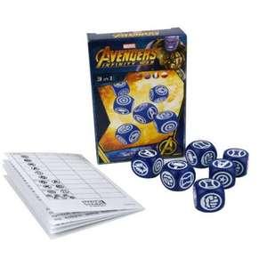 Würfelspiel Avengers Infinity War