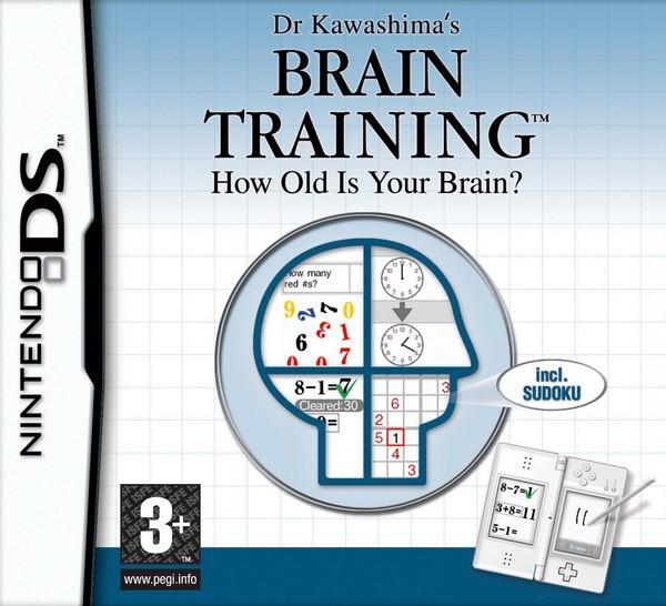 Nintendo DS - Dr Kawashima\'s Brain Training: How Old Is Your Brain? / Gehirn Jogging