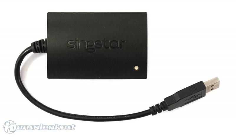 Mikrofon / Microphone USB Adapter für Mikrofon mit Klinke / Original Sony / SingStar