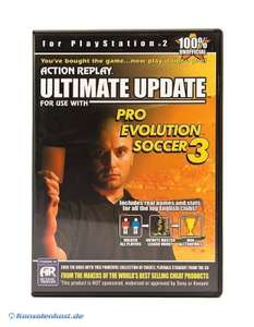 Action Replay Ultimate Cheats - Pro Evolution Soccer 3