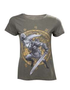 Girlie T-Shirt - Zelda - Link at the Gate of Time Women's T-shirt