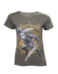 Girlie T-Shirt - Zelda - Link at the Gate of Time Women's T-shirt