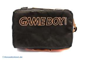 Original Nintendo Tasche / Carry Case #orange-schwarz