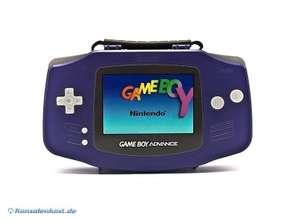 Original Nintendo Tasche - Case #lila