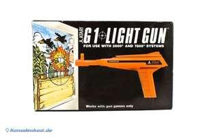Original Atari Light Gun G1 System#rot