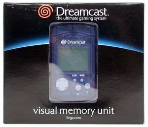 Visual Memory Unit - Memory Card #blau [Sega]