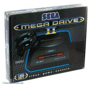 Konsole MD2 + Sonic 2 + 2 Original Controller + Zubehör