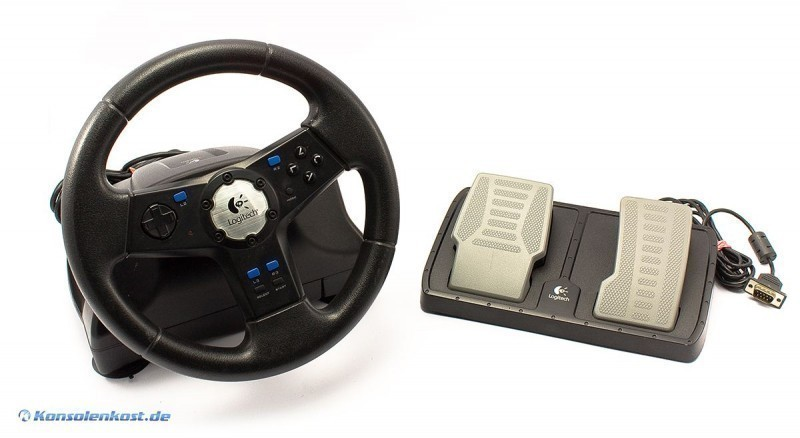 Lenkrad / Racing / Steering Wheel mit Pedale Rally Vibration [Logitech]
