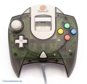 Original Controller #schwarz-transp. HKT-7700 [SEGA]