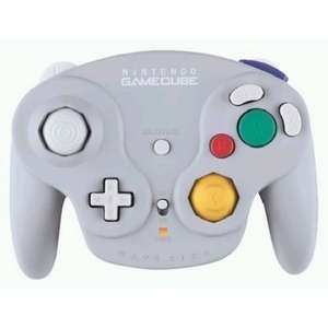 Original Nintendo Controller Wavebird Wireless #grau