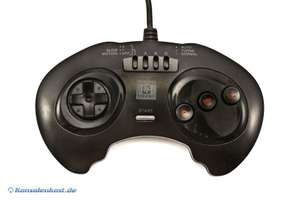3 Button Controller mit Turbo #schwarz [High Frequency]