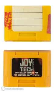 Memory Card / Memorycard / Speicherkarte / Controller Pak 256K #gelb [Dritthersteller]