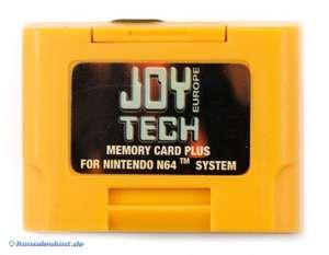 Memory Card / Memorycard / Speicherkarte / Controller Pak 1MB #gelb [Dritthersteller]