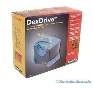 Dex Drive 64: N64 Controller Paks / Memory Cards / Speicherkarten auf dem PC speichern [Interact]