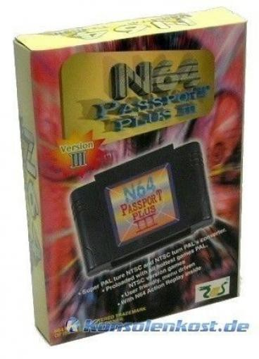 Importadapter / Import Adapter / Universal Games Adaptor Passport Plus 3 + Action Replay