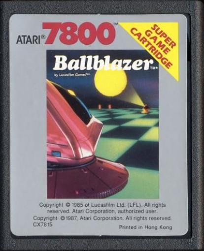 Atari 7800 - Ballblazer