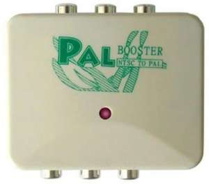PAL Booster - NTSC to PAL Converter / Adapter