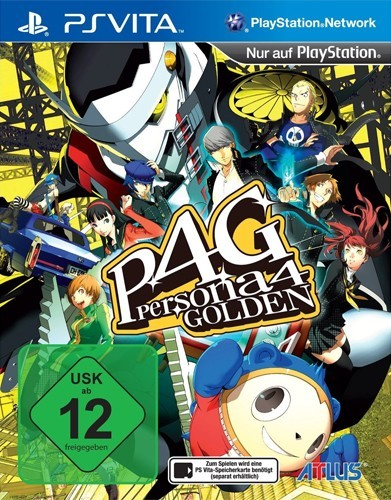 PS Vita - Persona 4 Golden