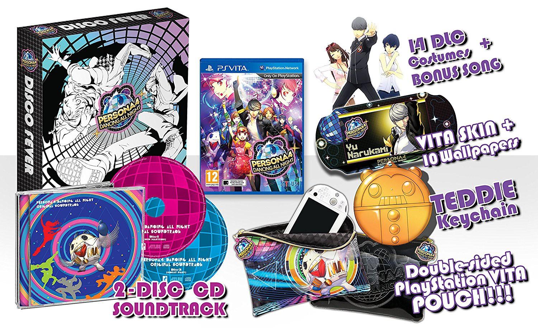 PS Vita - Persona 4: Dancing All Night #Disco Fever Edition