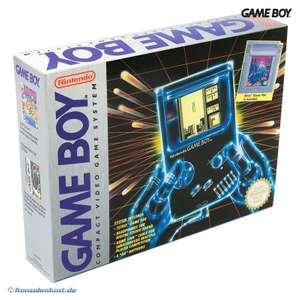 Konsole Classic + Tetris + Linkkabel #grau