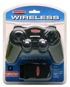 Controller / Pad Wireless #schwarz Funk-Gamepad 2.4 GHz [Hammerhead]