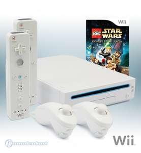 Konsole #weiß + Lego Star Wars + 2 Original Remotes + Zubehör