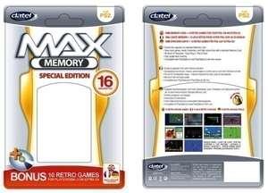 Memory Card / Memorycard / Speicherkarte 32 MB Max Memory [DATEL]
