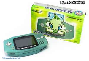 Konsole #grün Celebi Pokemon Center Edition