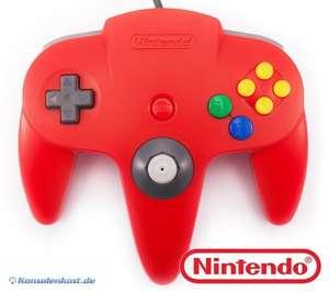 Original Nintendo Controller #rot NUS-005